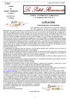 N° 49 – Le Petit Rominois Décembre 2019
