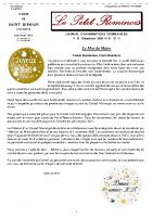 N° 51 – Le Petit Rominois Décembre 2020